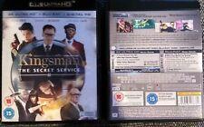 KINGSMAN : THE SECRET SERVICE [ 4K UHD / BLU-RAY UK EDITION )
