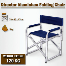 Director Aluminium Folding Chair Camping Picnic Fishing Fold Able Beach Chair Na