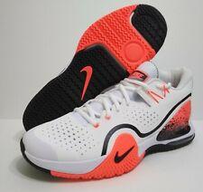 Nike Men's Size 10 Nikecourt Tech Challenge 20 Hot Lava White BQ0234-100 New