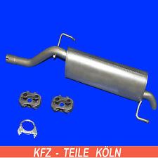 Opel Corsa D 1.4 / Silenciador Con