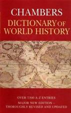 "NEW*NEVER OPENED OR READ! ""Chambers Dictionary of World History"" HC w/DJ"