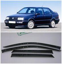 For VW Vento Sd 1991-1998 Side Window Visors Sun Rain Guard Vent Deflectors