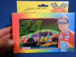 # 24 Jeff Gordon 1999 Tin with 2 Decks of Playing Cards USA #523 Unopened NASCAR