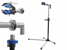 """Adjustable 41"""" to 71"""" Pro Bicycle Rack Repair Stand w/ Telescopic Arm Tool Tray"""