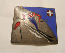 INSIGNE ANCIEN SKI EMAILLE