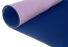 neoprene bifoderato 35x40 - spessore 3 mm - blu/rosa