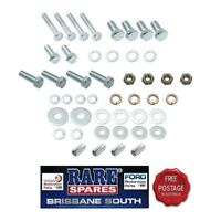 HOLDEN EJ EH FRONT BUMPER BAR TO BODY MOUNTING BOLT SET RARE SPARES