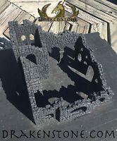 DrakenStone RUINED FIELDSTONE TOWER Kit Hydrostone D&D Dwarven Forge Drakenstone