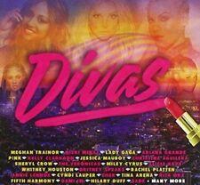 DIVAS 3CD NEW Meghan Trainor Little Mix Veronicas Lady Gaga Elle King Dami Im