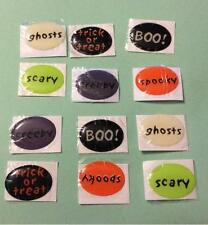 12 Halloween Bubble Charm Stickers Crafts Scrapbook