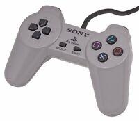 PS1 Official Controller grey control pad Sony Playstation psone original retro