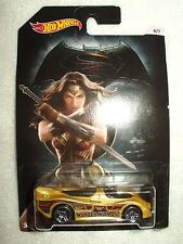 Action Figure DC Hot Wheels Car Superman vs Batman Wonderwoman Power Pistons 6/7