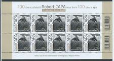 """Ungarn  Briefmarken   2013   Mi. KB   5656  """"Robert Capa""""       ** oder  O"""