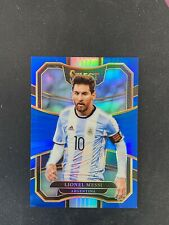 2017-18 Panini Select Soccer LIONEL MESSI #76 Blue Prizm  /299 Argentina