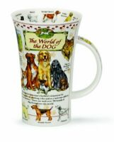 Dunoon Glencoe Fine China Educational WORLD OF DOG Mug Cup 500ml 16.9 fl oz