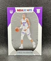 🔥2020-21 Panini NBA Hoops TYRESE HALIBURTON Rookie Card RC #238 Kings👀