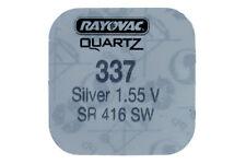 Rayovac Silver Oxide Watch Battery Choose Size & Post Europe 337 (sr416sw)