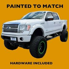 NEW Ford F150 2011 2012 Truck Fender Flares Painted to Match - Bolt Style