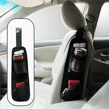 Auto Car Seat Side Hanging Bag Storage Mesh Pocket Organizer Holder Hot