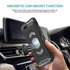 Shockproof Slim Light Tough Car Mount Card Holder Case Cover For iPhone  6 7 8 X