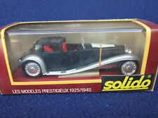 Solido Bugatti 41 Royale 1/43 Scale Age d'Or - various styles & liveries BOXED