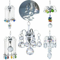 Angel Decor Hanging Crystal Suncatcher Prisms Pendant Chandelier Lighting Decor