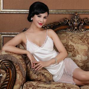 Pure Silk Womens Sexy Slips Chemise US 2 6 10 SSH1626