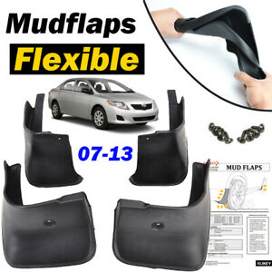 For Toyota Corolla 2007-2013 Mud Flaps Splash Guard Mudguards Front Rear Fenders