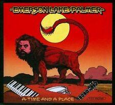 Emerson Lake & Palmer A Time And A Place 4 CD Box Set 2010 ELP Shout Factory USA