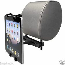 Universal Headrest Back Seat Car Holder Mount for iPad 1 2 3 4 5 Mini & Tablets