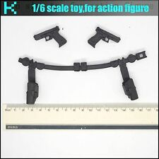 L13-46 1/6 scale action figure Black widow belt、Pistol & Holster