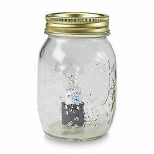 Clear Mason Jar Plug-In Rustic log Cabin Electric Tart Wax Warmer Night Light