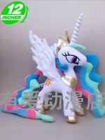 lovely horse  Princess Celestia cartoon plush doll dolls cute kids gift new