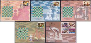 Yugoslavia 1996 Kings of chess III, FDC