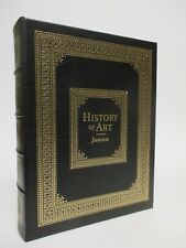 HISTORY OF ART (6th Edition) Janson -Easton Press Leather-bound Illustrated 2001