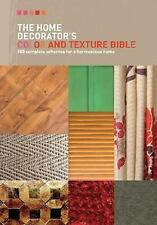 The Home Decorator's Color & Texture Bible NEW Loaded w/Photos+DIY Instructions