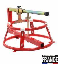 Béquilles d'atelier cale-roues pour motocyclette