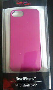 Rocketfish Hard Shell Case Cover For iPhone 5 5s Magenta RF-A5H2PT