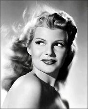 Rita Hayworth Photo 8X10 - B&W - Buy Any 2 Get 1 Free