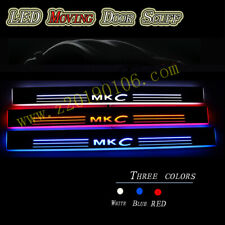 For Lincoln MKC 2014-2019 Car LED Scuff Plate Pedal Front Door Sill Moving Light