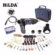 220V 180W Hilda Dremel Electric Rotary Power Tool Mini Drill With Flexible Shaft