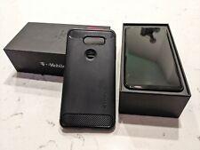 New listing Refurbished Lg V30+ Black 128Gb 4G Lte Cell Phone - In Box w/ Spigen Case