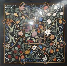 """Marble center Coffee 36"""" Table Top Inlay Marquetry handmade inlay work"""