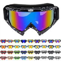 Motorcycle Goggles Motocross MX Glasses Outdoor Off Road ATV UTV Anti-UV Eyewear