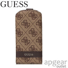 Authentique guess GUFLS 34GB marron à rabat case cover samsung galaxy S3