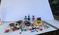 Vintage Playmobil Geobra Pirate Figures and Accessories