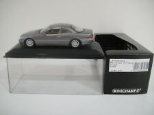 --1/43 MINICHAMPS. MERCEDES-BENZ S-Class Coupé 1999 Grey Met
