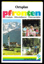 Ortsplan, Pfronten Allgäu, um 1990