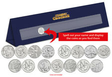 Personalised A-Z of Great Britain 10p Display Stand (6-10 Coins) [Ref: 840M]