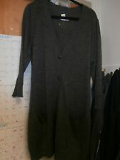 Covington Womens Gray BUTTON DOWN Cardigan Long Sleeve Size XL NWOT